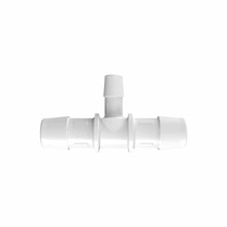 Eldon James; T-coupling; koppeling; T-koppeling;sanitair; single-use, T-verloopstukken, natural polypropyleen