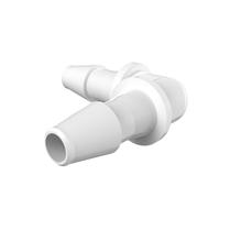 Eldon James; Elbow; coupling; koppeling; sanitair; single-use, L-verloopstukken, natural polypropyleen
