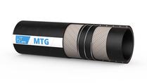 MTG Manichem/SD-EPDM universele transportslang d.m.v. vacuüm of druk, voor het transporteren van agressieve chemicaliën; Buitenlaag is EPDM-rubber; Weerstand tegen stoom tot +130°C