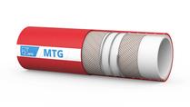 MTG Primewine rubberen transportslang voor (sterke) dranken van hoge kwaliteit; een flexibele en gemakkelijk hanteerbare rubberslang. Dit type voedingsmiddelenslang is geschikt voor het transporteren van dranken van hoge kwaliteit, zoals wijn, most, cider en sterke drank met een alcoholgehalte tot 96%