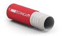 Tufood EPDM Crush Resistant transportslang voor druk- en vacuüm applicaties; niet-vette voedingsmiddelen; Tudertechnica; tot 120 gr Celcius
