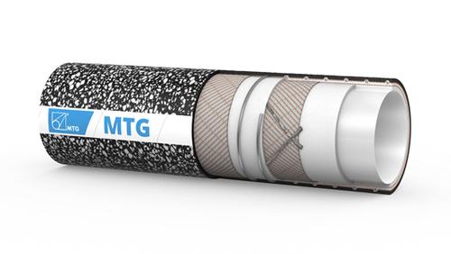 De MTG Dynamic Antistatic; multifunctionele slang die geschikt is voor het verplaatsen van farmaceutische, cosmetische en chemische stoffen