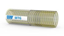 MTG Pharmadust AS zuigslang en persslang voor lucht gemengd met poeders;  farmaceutische industrie; dissipatie van elektrostatische lading